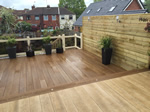 Decking Area fitted for David and Alyson in Stockport