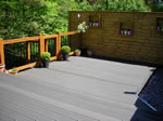 New decking installation in Derby