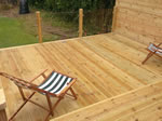 Decking System fitted in Bramhall