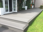 Recent fitting of composite decking in Macclesfield