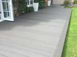 Compoiste decking fitted in Macclesfield