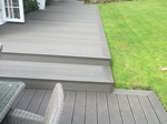 Fitting of composite decking system in Macclesfield