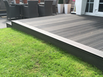 Composite decking fitted in, Macclesfield