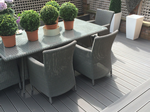 Grey composite decking, Macclesfield