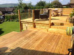 Fitting of decking system in New Mills