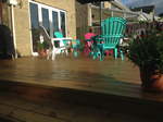 Decking fitted in Bollington, Macclesfield
