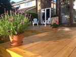 Decking system fitted in Macclesfield